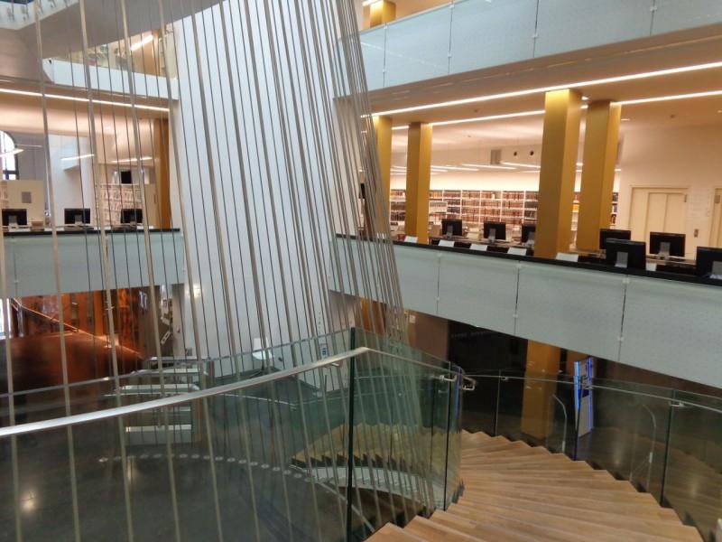 Bibliothèque nationale universitaire de Strasbourg - moderní